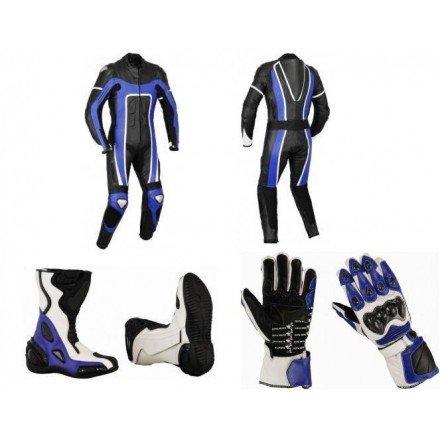 Pack moto racing Goyamoto Azul GM-643