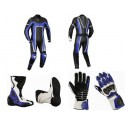 Pack moto racing Goyamoto Azul GM-643