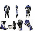 Pack moto racing Goyamoto Azul GM-683