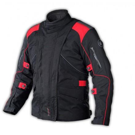 Chaqueta cordura ONBOARD Forward color negro-rojo