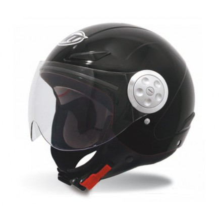 Casco jet MT Urban Kids Solid Black