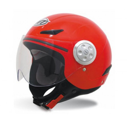 Casco jet MT Urban Kids Solid Red