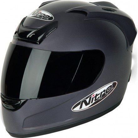 Casco integral Nitro N-250VX Negro mate