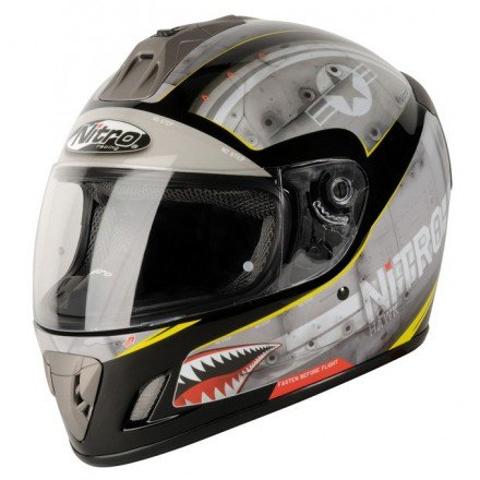 Casco integral Nitro NGFP Hawk