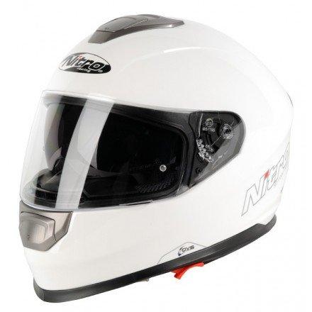 Casco integral Nitro NP-1100F Apex DVS Mono Blanco