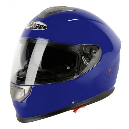 Casco integral Nitro NP-1100F Apex DVS Mono Azul