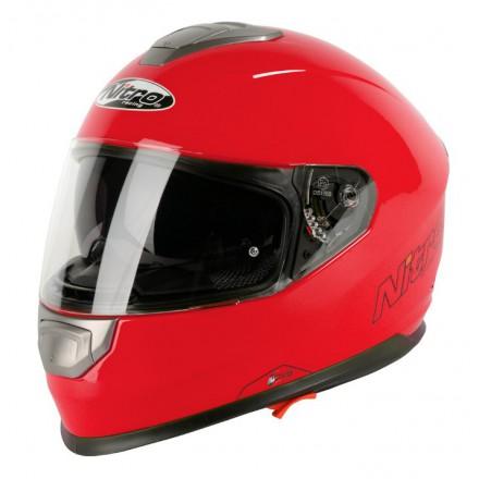 Casco integral Nitro NP-1100F Apex DVS Mono Rojo