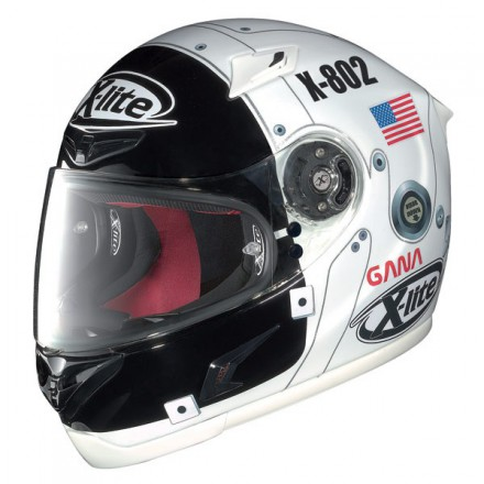 Casco integral X-Lite X-802R Lorenzo Moon White