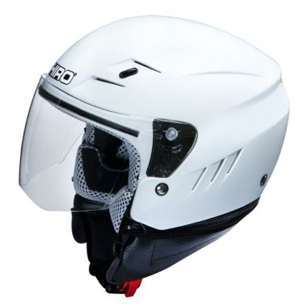 Casco Shiro SH-20 Monocolor blanco