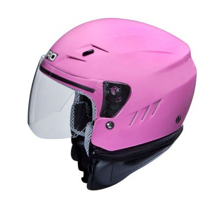 Casco Shiro SH-20 Monocolor rosa