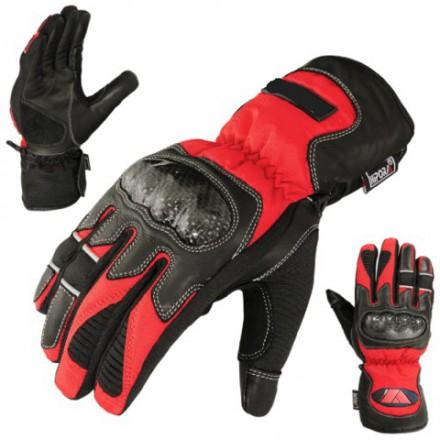 Guantes de piel y cordura Redbat Reko DB-330 rojo