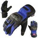 Guantes de piel y cordura Redbat Reko DB-330 azul