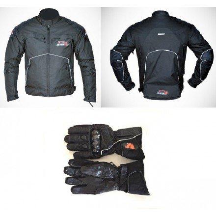 Pack cordura chaqueta + guantes Redbat DB-197