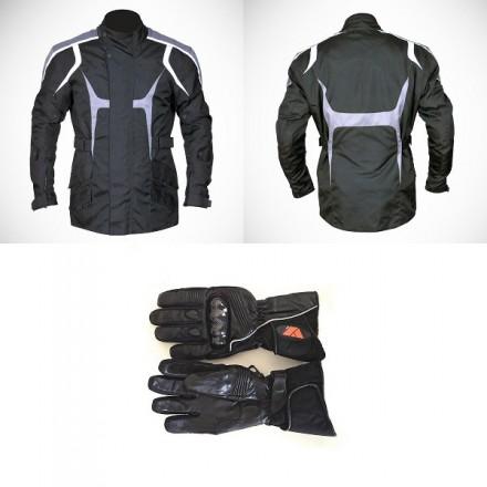 Pack cordura chaqueta 3/4 + guantes Redbat DB-194