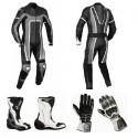 Pack moto racing Goyamoto Gris GM-624