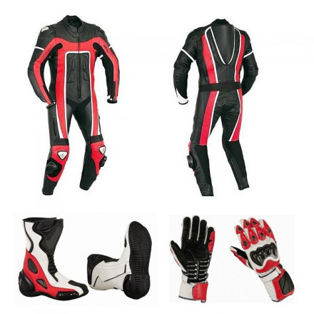 Pack moto racing Goyamoto Rojo GM-642
