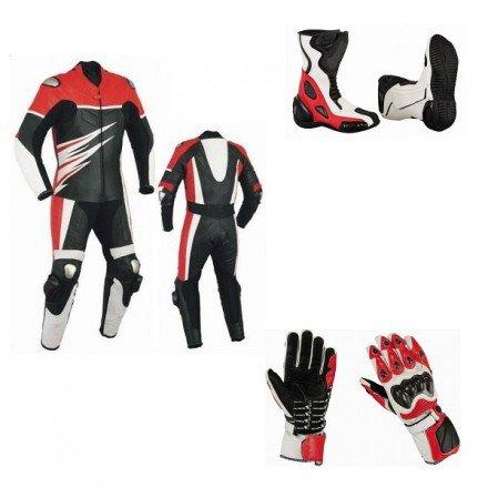 Pack moto racing Goyamoto Rojo GM-682