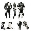 Pack moto racing Goyamoto Gris GM-684