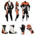 Pack moto racing Goyamoto Naranja GM-686