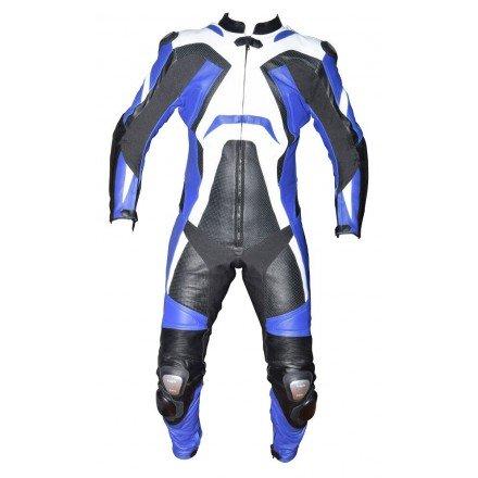 Mono de moto 1 pieza Compilo MC-1053 azul