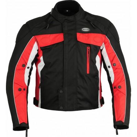 Chaqueta cordura Goyamoto GM-108 color rojo-negro