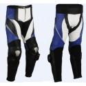 Pantalón de cuero Goyamoto GM-150 azul