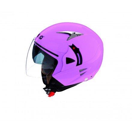Casco jet SHIRO SH-70 Sunny rosa