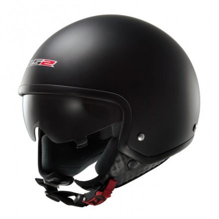 Casco jet LS2 OF561.10 WAVE Matt-Black