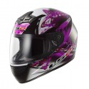Casco integral LS2 FF352.38 ROOKIE FLUTTER Black-Purple