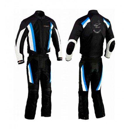 Mono de moto de cordura Goyamoto GM-3036 azul
