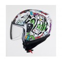 Casco Shiro SH-20 Comic Blanco