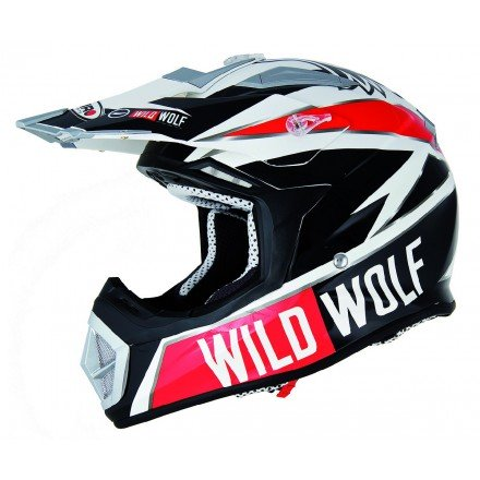 Casco Shiro cross MX-912 Wild Wolf