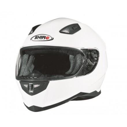 Casco integral Shiro SH-881 Monocolor blanco