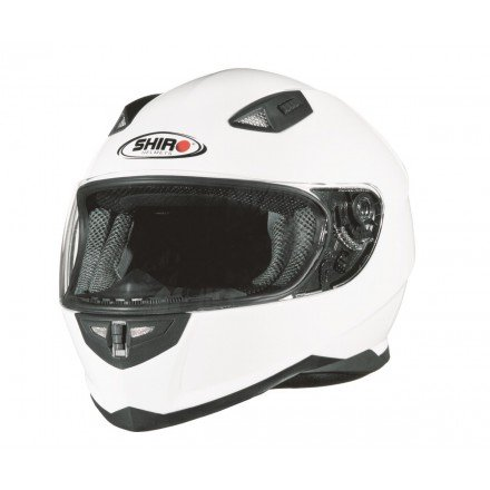 Casco integral Shiro SH-881 Monocolor blanco