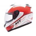 Casco integral MT Blade SV Boss White Red