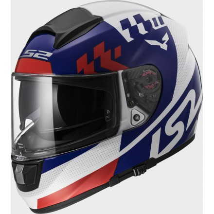 Casco integral LS2 FF397.10 Vector FT2 Podium White Blue Red