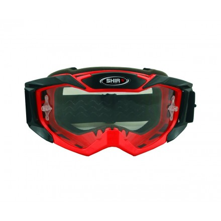 Gafas Off Road Shiro Goggle MX-902 color rojo