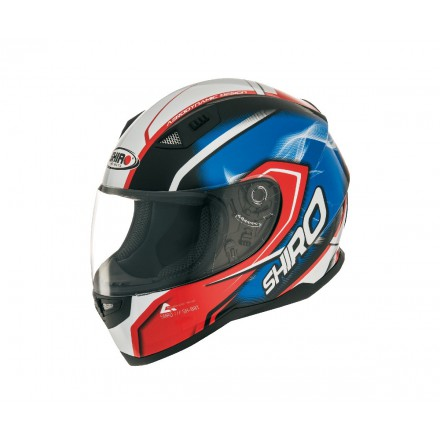 Casco integral Shiro SH-881 Motegi Rojo-Azul