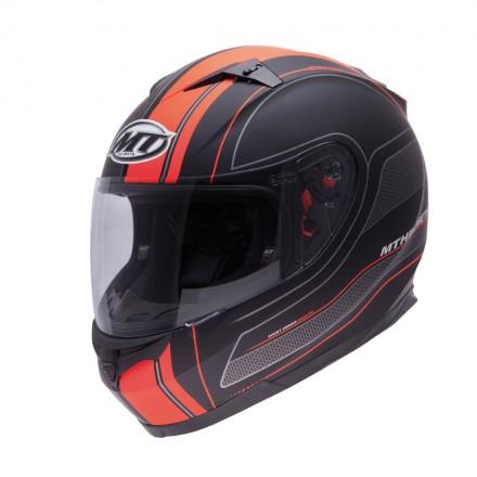 Casco integral MT Blade SV Raceline Matt Black-Orange