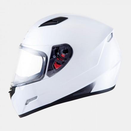 Casco integral MT Mugello Solid Gloss White