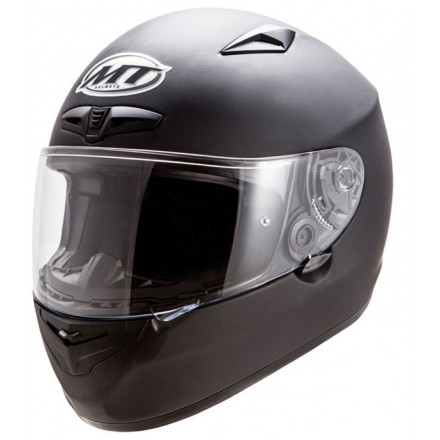Casco integral MT Matrix Solid Matt Black