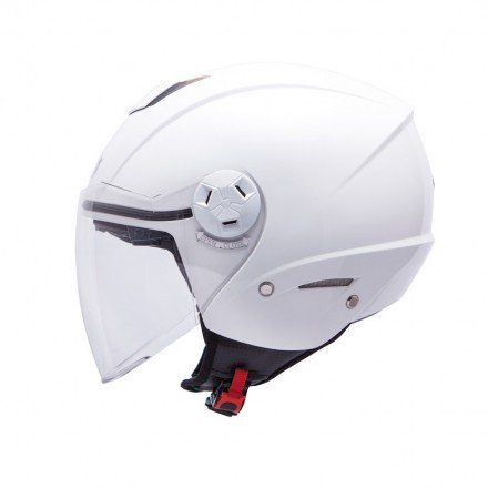 Casco jet MT City Eleven SV Solid White