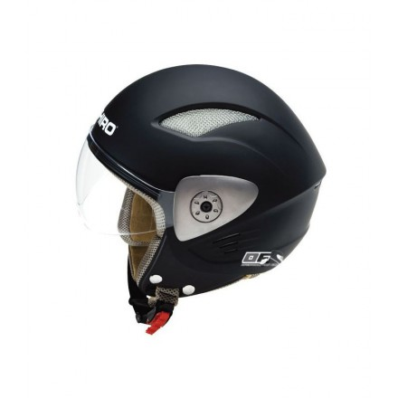 Casco moto Shiro SH-90 monocolor negro mate