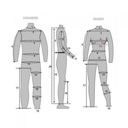 Pantalón tejano a medida
