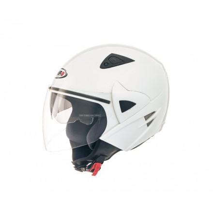 Casco jet SHIRO SH-60 Ice blanco perlado