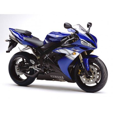Pelacrash Yamaha R1 2008