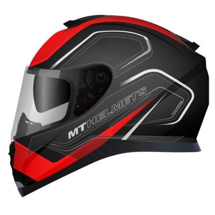 Casco integral MT Thunder 3 SV Trace Matt Black-Red
