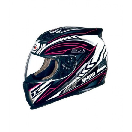 Casco integral Shiro SH-821 Motion II color rosa