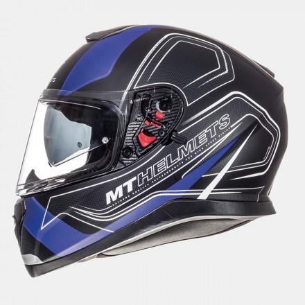 Casco integral MT Thunder 3 SV Trace Matt Black-Blue