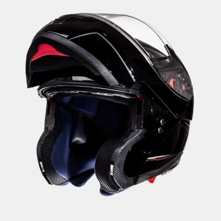 Casco modular MT Atom Solid Black